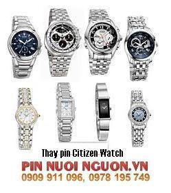 Pin đồng hồ Citizen các loại : Citizen đeo tay, Q&Q Stopwatch, Q&Q treo tường,v.v....