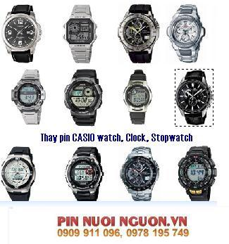 Pin đồng hồ Casio các loại : Casio đeo tay, Casio báo thức, Casio Stopwatch,v.v...
