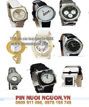 Pin đồng hồ BCBG, Thay Pin đồng hồ BCBG