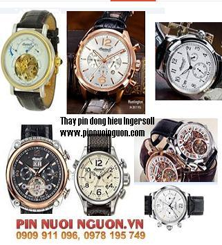 Pin đồng hồ Ingersoll, Thay pin đồng hồ Ingersoll