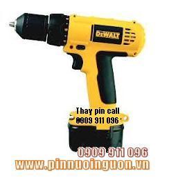 Pin máy khoan DEWALT DC750KA, Thay Pin máy khoan DEWALT DC750KA