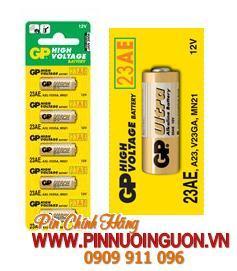 Pin Remote cửa, Pin GP Ultra 23AE High Voltage 12V Remote Control / MẪU CŨ - HẾT HÀNG