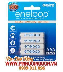 Pin sạc AAA Sanyo Eneloop 4HR-4UTG-SECP-BP4/AAA 800mAh - 1.2V chính hãng | tạm hết hàng