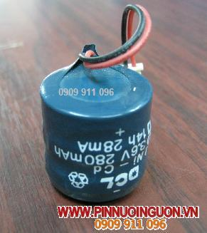Pin PLC NIMH DCL3.6V280mAh nuôi nguồn PLC-CNC/ hàng có sẳn