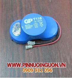 Pin PLC GP T116-3.6V280mAh nuôi nguồn PLC-CNC/hàng có sẳn