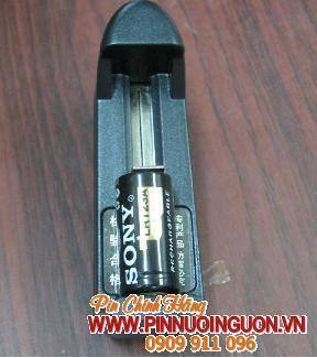 Bộ sạc pin Lithium Li-Ion Sony CR123/LR120-kèm sẳn 1 pin sạc Sony LR123 / tạm hết hàng