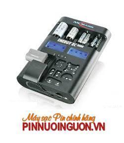 Máy sạc đa năng ENERGY XC 3000-sạc pin Li-on, Li-po,NIMH,NICD, pin máy ảnh, pin điện thoại,...đo dung lượng pin và có chức năng Pin sạc dự phòng