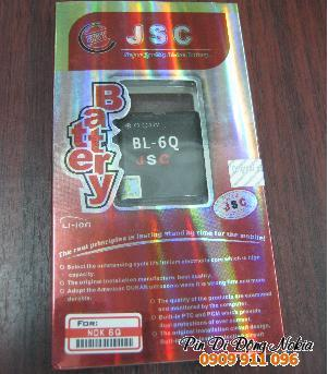 Pin điện thoại di động Nokia BL-6Q Li-Polimer 950mAh-3.7V/ hàng có sẳn