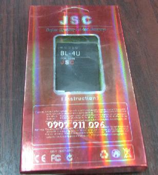 Pin điện thoại di động Nokia BL-4U Li-Polimer 1540mAh 3.7V/ hàng có sẳn