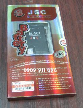 Pin điện thoại di động NOkia BL-5CT Li-On 1200mAh 3.7V/ hàng có sẳn