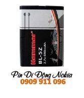 Pin điện thoại di động Nokia BP-5Z Li-On 840mAh 3.7V