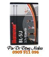 Pin điện thoại đi động NOkia BL-5U Li-On 850mAh -3.7V