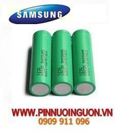 Pin sạc 18650 - 3,7V Li-Ion Samsung ICR18650-22FM chính hãng Made in Korea | Hết hàng