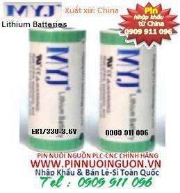 Pin MYJ ER17330 Lithium 3.6V nuôi nguồn PLC-CNC/ hàng có sẳn