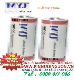 Pin MYJ ER26500 size  C Lithium 3.6V nuôi nguồn PLC-CNC/ hàng có sẳn