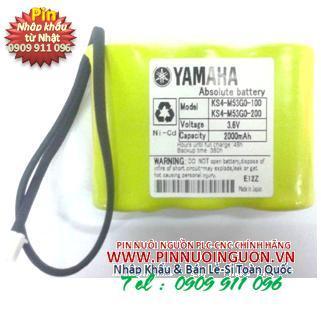 YAMAHA KS4-M53G0-102 3.6V BATTERY NI-CD 3.6V 2000MA | hàng có sẳn