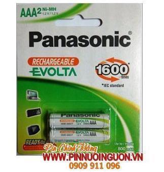 Pin điện thoại bàn 1,2V AAA750mAh Panasonic HHR-4MVT/2B  | Đặt hàng