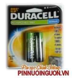Pin sạc AA Duracell AA2650mAh-1.2V  chính hãng | hết hàng