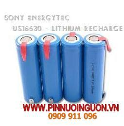 Pin sạc Lithium Li-Ion Sony US16330 -3.7V chính hãng SOny | hàng có sẳn