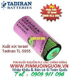 Pin Tadiran TL-5955/S Lithium 3.6V size 2/3AA nuôi nguồn PLC chính hãng Tadiran | hàng có sẳn