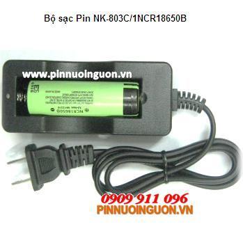 Bộ sạc pin Li-IOn NK-803C kèm sẳn 1 Pin sạc Li-Ion Pasonic NCR18650B-3400mAh-3.7V|  tạm hết hàng