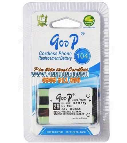 Pin điện thoại bàn GOOP GD-104, HHR-P104 chính hãng Goop China