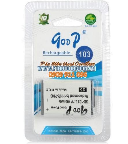 Pin điện thoại bàn GOOP GD-103 chính hãng Goop China