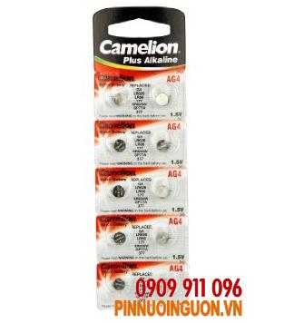 Pin Camelion AG4-SR626SW SilverOxide 1,55V chính hãng Camelion Đức | hàng có sẳn