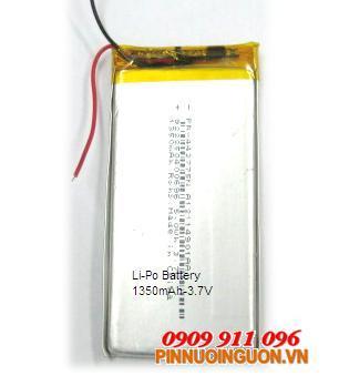 Pin sạc Li-Polymer 443775-3.7V | hàng có sẳn