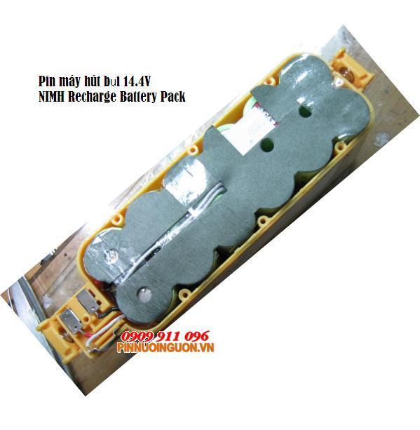 Pin máy hút bụi 14.4V NIMH Recharge Battery Pack | Bảo hành sử dụng 03 tháng - Hàng có sẳn