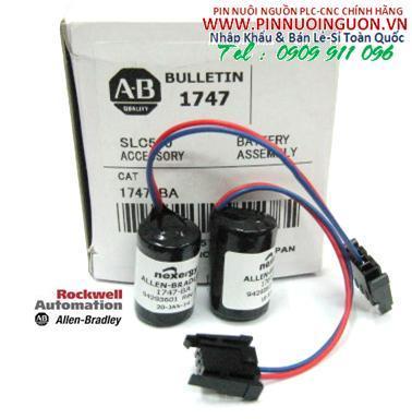 Pin Allen Bradley AB 1747-BA Lithium 3V chính hãng nuôi nguồn Allen Bradley/ hàng có sẳn
