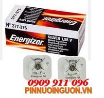 Pin Energizer 377-376, SR626SW Silver Oxide 1.55V chính hãng Energizer USA, Pin xịn thay pin đồng hồ| hàng có sẳn