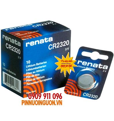 Pin Renata CR2320 lithium 3V chính hãng Renata Thụy Sĩ