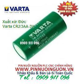 Pin Varta CR2/3AA lithium 3V size 2/3AA -nuôi nguồn PLC/CNC chính hãng Varta Đức/ hàng có sẳn
