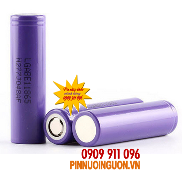 Pin sạc Li-Ion 3,7V LG18650DABE1-3200mAh chính hãng LG | Đặt hàng