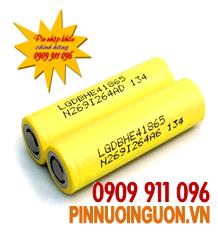 Pin sạc Li-Ion 3,7V LG18650DBHE4-35A-2500mAh chính hãng LG | Đặt hàng