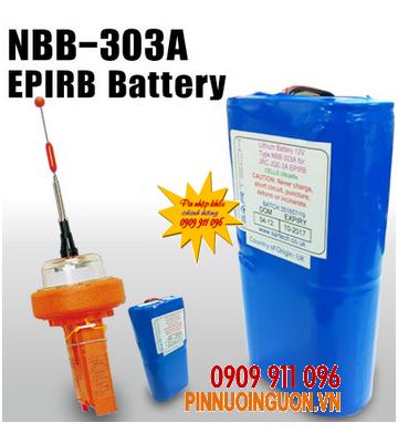 Pin phao cứu sinh nghành hàng hải NBB-303A EPIRB 11,2V lithium 10AH | hàng có sẳn