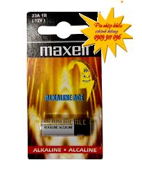 Pin 12V Remote cửa Maxell 23A/A23 Alkaline chính hãng Maxell nhập khẩu | hàng có sẳn