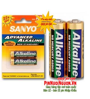 Pin AA Sanyo LR6 Alkaline 1,5V chính hãng nuôi nguồn | Hàng có sẳn