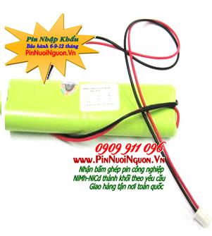 Pin sạc 4,8V AA700mAh, Pin sạc công nghiệp NiMh-NiCd 4,8V AA700mAh chính hãng | hàng có sẳn
