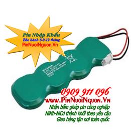 Pin sạc 4/V15H - 15mAh - 4,8V nuôi nguồn PLC-CNC chính hãng | Hàng có sẳn