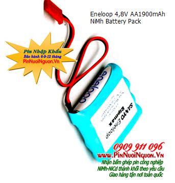 Pin sạc Eneloop 4,8V-AA1900mAh, Pin sạc NiMh Eneloop 4,8V-AA1900mAh chính hãng | Hàng có sẳn
