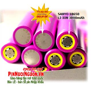 Pin sạc 3,7V Li-Ion Sanyo UR18650 (UR18650ZTA-I08A) -3000mAh dòng xả 10A chính hãng Made in Japan | TẠM HẾT HÀNG