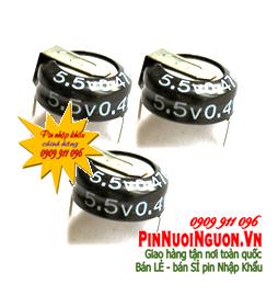 Pin tụ Farad 0.47F - 5,5V | Pin tụ mainboard 0.47F - 5,5V nuôi nguồn chính hãng