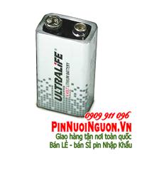 Pin nuôi nguồn Ultralife U9VLJP lithium 9V chính hãng | TẠM HẾT HÀNG