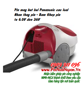 Pin máy hút bụi Panasonic NiMh-NiCd các loại | hàng có sẳn