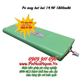 Pin máy hút bụi 14,4V1800mAh, Pin sạc NiMh 14,4V1800mAh máy hút bụi các hãng | Đang có sẳn