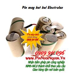Pin máy hút bụi Electrolux 9,6V2000mAh, Pin sạc NiMh-NiCd 9,6V2000mAh thay pin máy hút bụi các hãng| Đang có sẳn