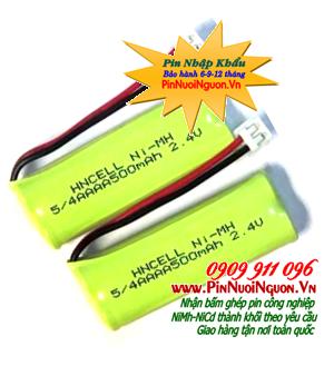 Pin điện thoại bàn không dây NiMh 2,4v - 5/4AAAA500mAh chính hãng | tạm hết - có thể Đặt hàng trước và chờ