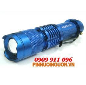 Đèn pin siêu sáng Police NK-628A thấu kính lồi bóng CREELED | hàng có sẳn-Bảo hành 6 tháng